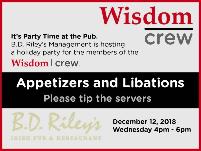 Wisdom|crew Party